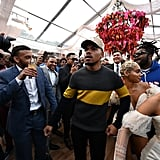 Chance the Rapper at the 2020 Roc Nation Brunch in LA