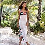 VES Brand Long Crochet Dress