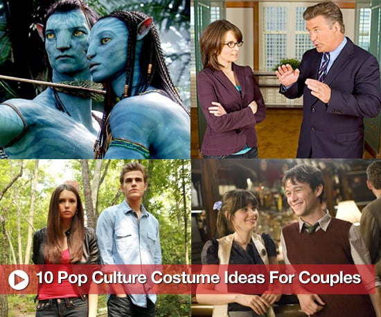 halloween couples costume ideas from pop culture including true blood glee avatar and 30 rock popsugar entertainment - Halloween Pop Culture