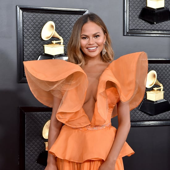 Chrissy Teigen's Reverse French Manicure: See the Photo