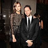 Karlie Kloss and Derek Blasberg at the American Museum of Natural History Museum Gala.