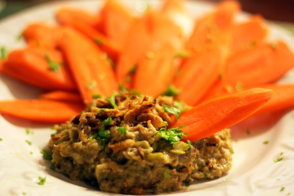 Green Bean Dip With Carrot Chips