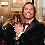 Pictured: Matthew McConaughey