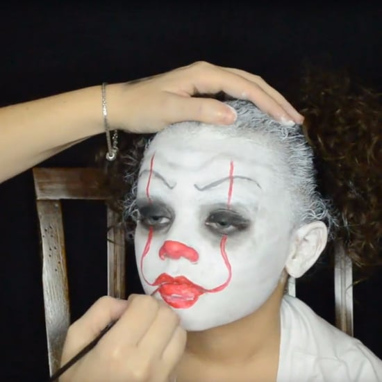Pennywise Halloween Makeup Tutorial For Kids
