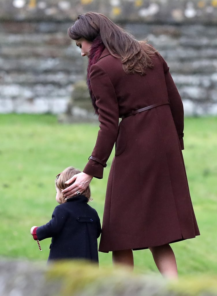 The Duchess Belted Her Coat For a Proper Fit
