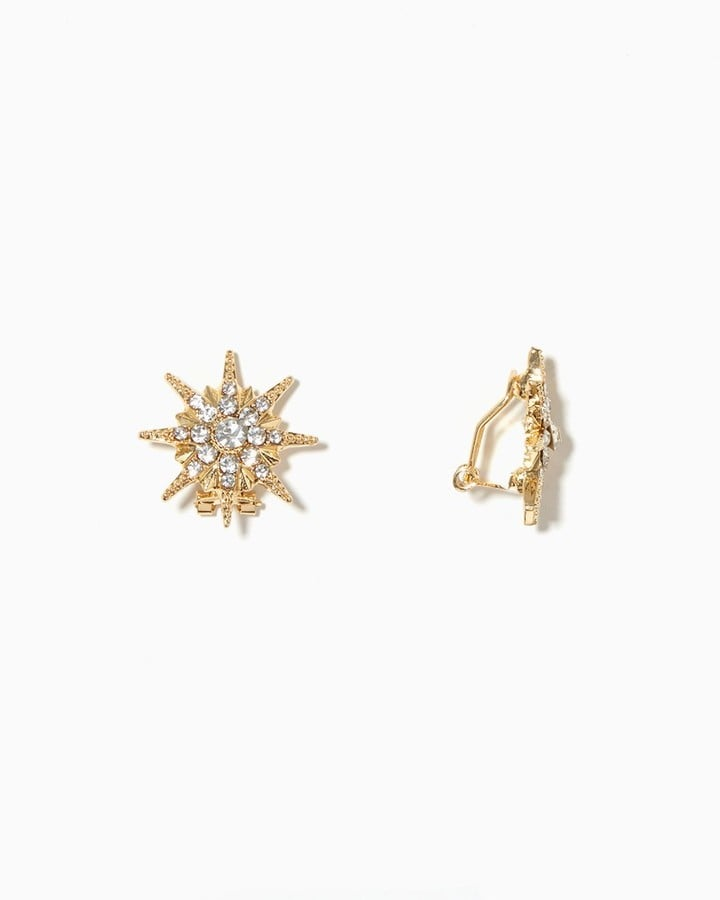 Charming Charlie Star Burst Earrings