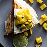 Jamaican Shrimp Quesadillas With Mango Salsa
