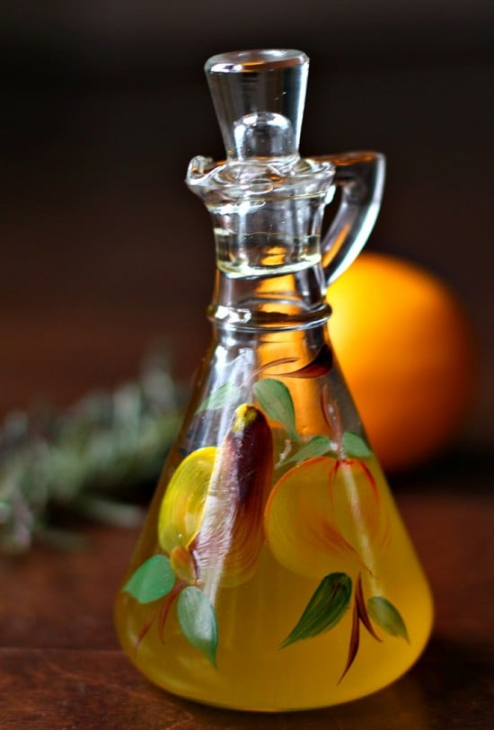 Lemon and Herb-Infused Olive Oil