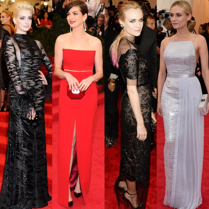 2014 and 2013 Met Gala Red Carpet Transformations