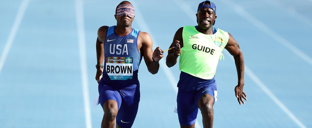 Who Runs With Blind Sprinters at the Paralympics?