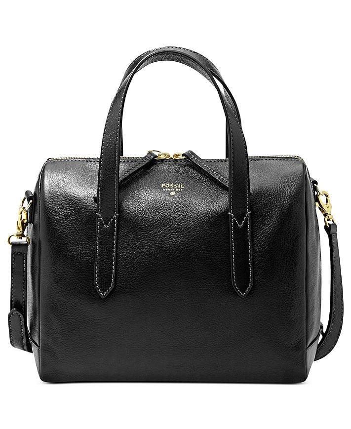 Fossil Sydney Leather Satchel
