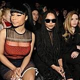 Nicki Minaj, Zoë Kravitz, Natasha Lyonne at NYFW
