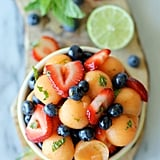 Berry Cantaloupe Fruit Salad