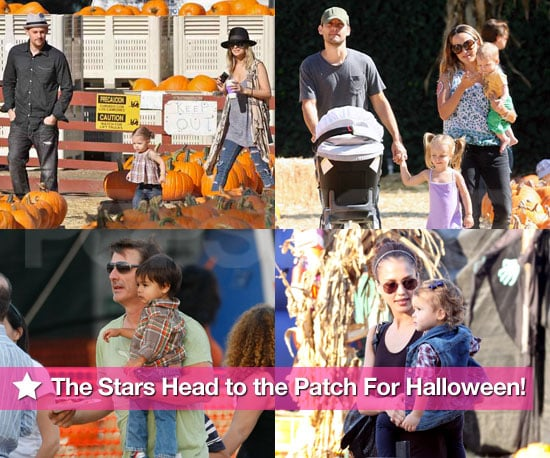 The Stars Head to the Patch For Halloween!