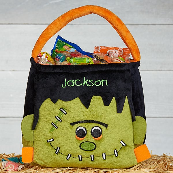 Frankenstein's Monster Bucket Tote