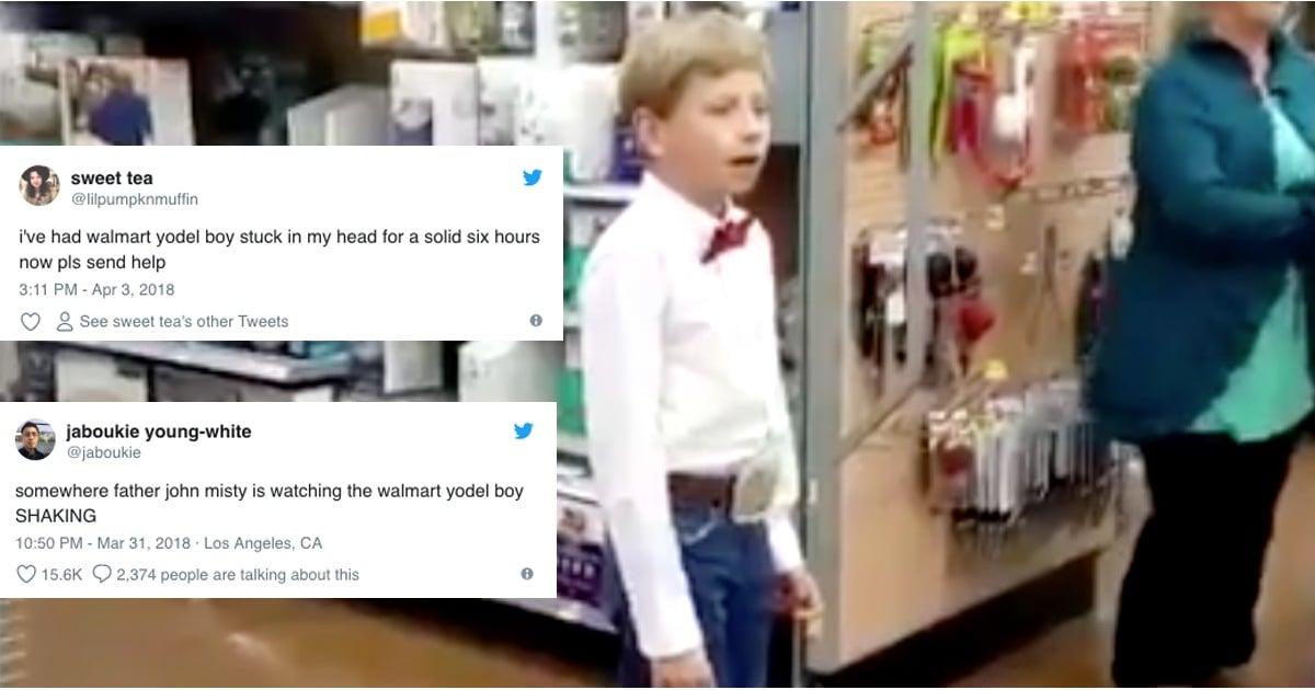 5abdac913 What Is the Walmart Yodel Boy Meme?   POPSUGAR News