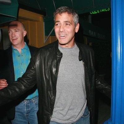 George Clooney Back in LA