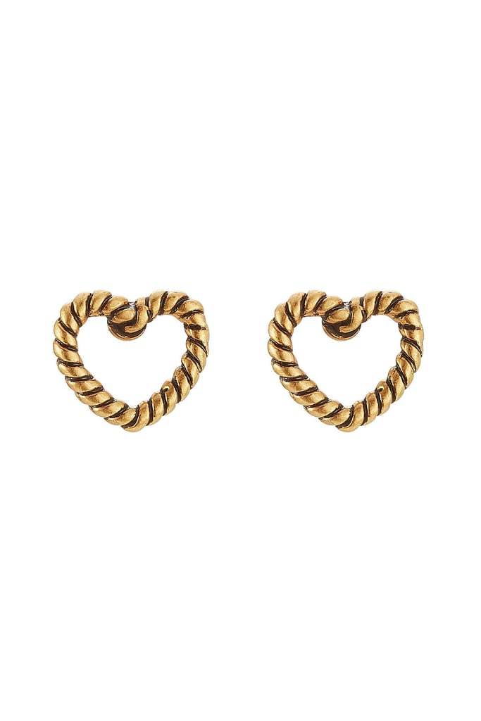 Marc Jacobs Rope Heart Studs ($59)