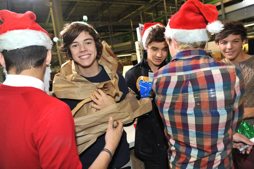 One Direction Celebrating Black Friday Deals in 2011