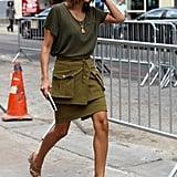 Christine Centenera at New York Fashion Week