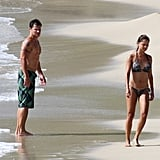 Nick Lachey and Vanessa Minnillo followed up their Necker Island nuptials with a trip to St. Barts in 2011.