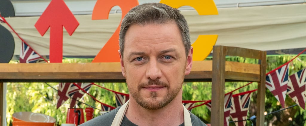 Twitter Reacts to James McAvoy on Celebrity SU2C Bake-Off