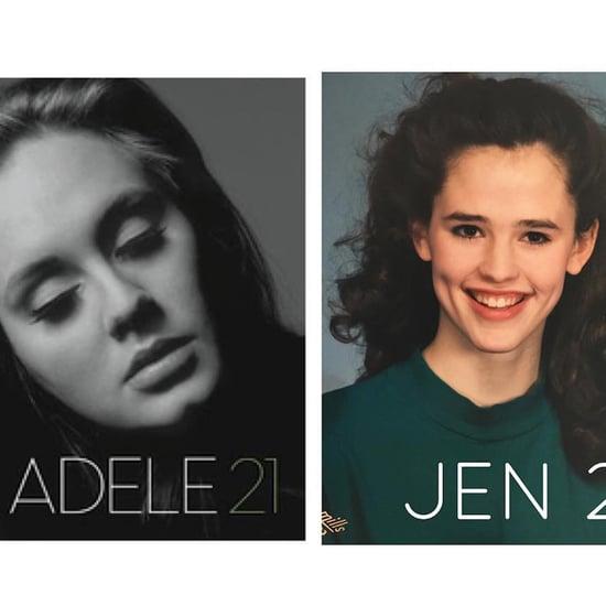 Jennifer Garner's Adele Throwback Instagram Photo July 2019