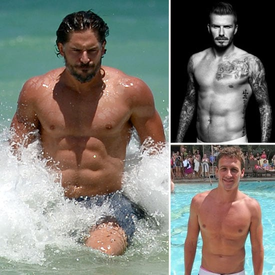 Hot Guys Going For the 2012 Shirtless Title!