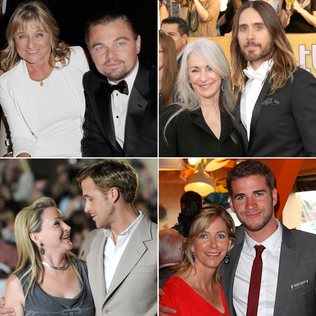 Hot Celebrities With Their Mothers
