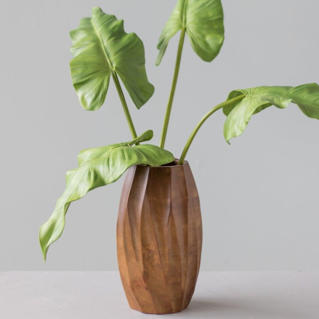 Carina Mango Wood Vase