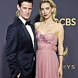 Matt Smith and Vanessa Kirby