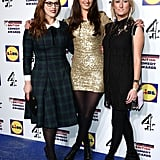 Lydia Rose Bewley, Jessica Knappett, and Lauren O'Rourke attended the British Comedy Awards in London.
