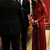 Kate Middleton at the UK-Africa Investment Summit, Buckingham Palace