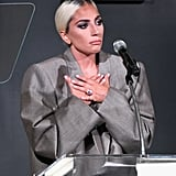Lady Gaga Confirmed Her Engagement During a Speech