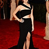 For the 2013 Met Gala, Emma went the sexy route in a Prabal Gurung dress.