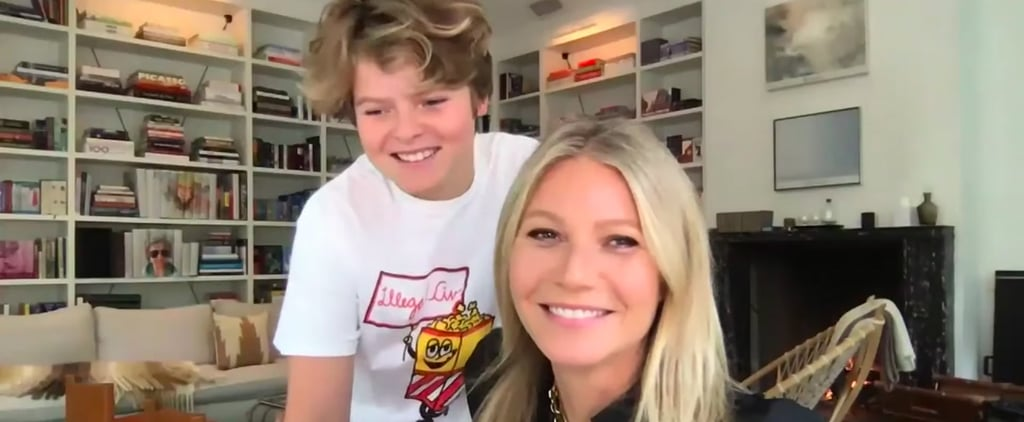 Watch Gwyneth Paltrow's Son Crash Her Tonight Show Interview