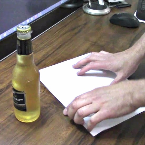 How to Open a Beer Bottle Without a Bottle Opener