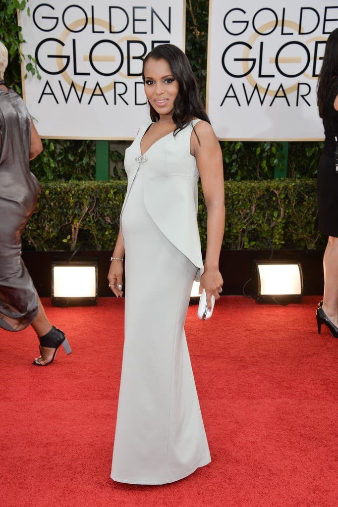 Kerry Washington at the Golden Globes
