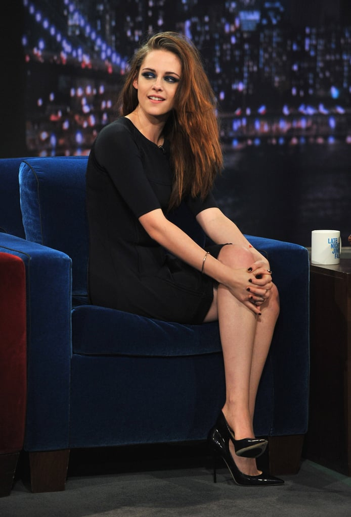 Kristen Stewart Talks Voting, Plays Quarters With Jimmy Fallon