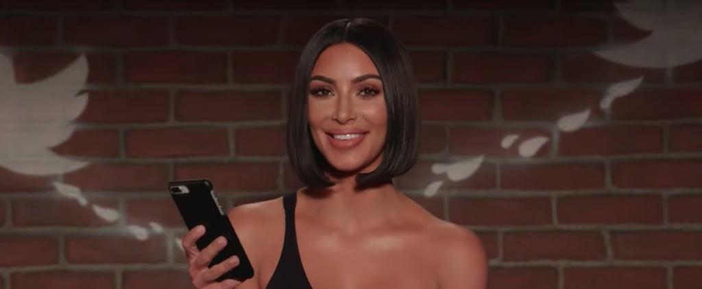 Kim Kardashian and Zendaya's Jimmy Kimmel Mean Tweets Video