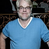 Philip Seymour Hoffman at the Moneyball afterparty.