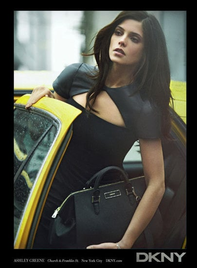 Ashley Greene reprises her leading lady role in DKNY's Fall 2012 campaign.