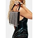 Topshop Fringe Frame Bag