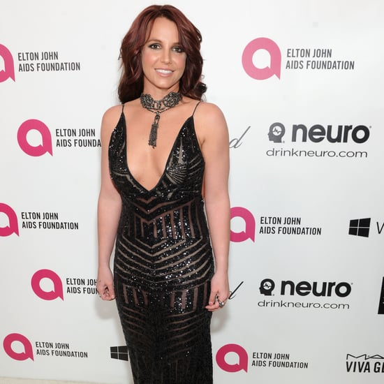 Britney Spears Dress at Elton John's Oscars Party 2014