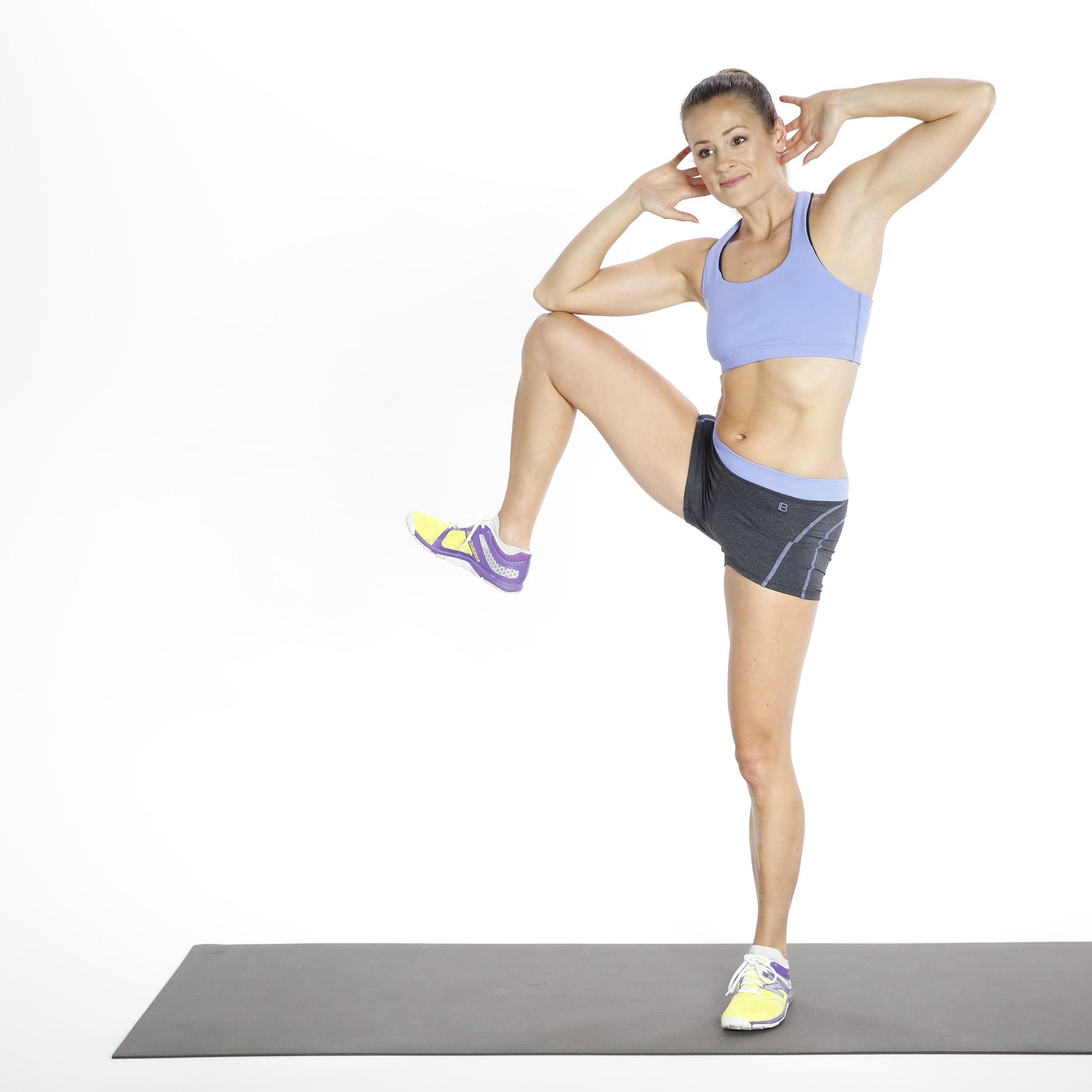 bodyweight ab workout 10 minutes popsugar fitness