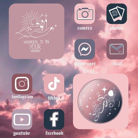 Aesthetically Pleasing TikTok App Icons