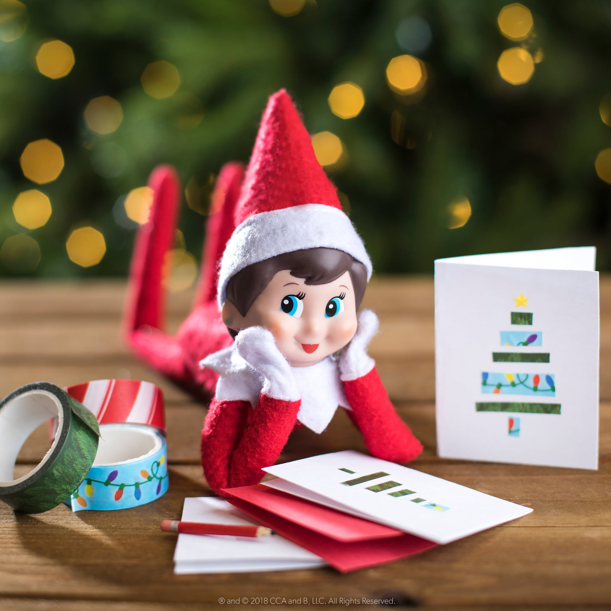 Christmas Elf On The Shelf Images.Elf On The Shelf Girl With Light Skin And Blue Eyes Elf On