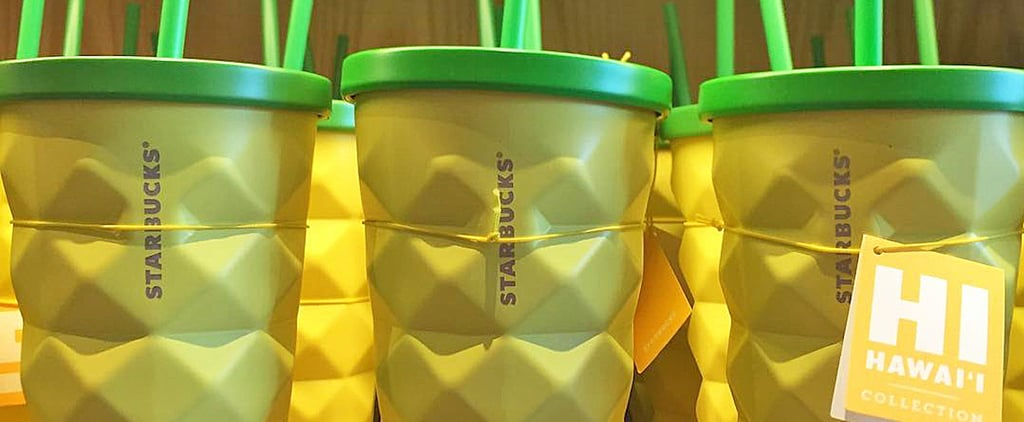 Starbucks Stores in Hawaii Are Selling Cute Pineapple Cups