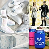 Weigh in on These Weird Wedding Products With toilet paper or beer koozies, companies have gotten very creative with their wedding paraphernalia. Check out these offbeat gifts, decorations, and accessories and tell us: do you find them funny and festive, or just plain tacky? Weigh in now!