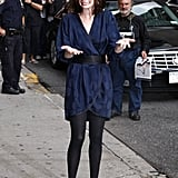 Anne Hathaway on Letterman